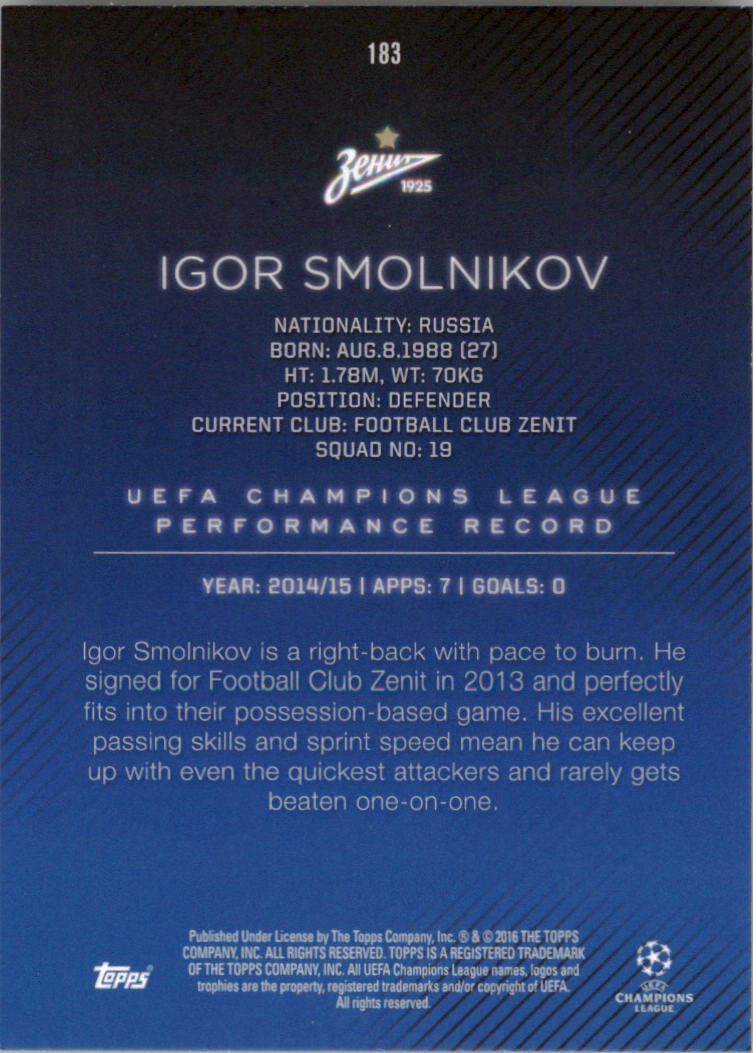 2015-16-Topps-UEFA-Champions-League-Showcase-Soccer-Your-Choice-GOTBASEBALLCARDS thumbnail 363