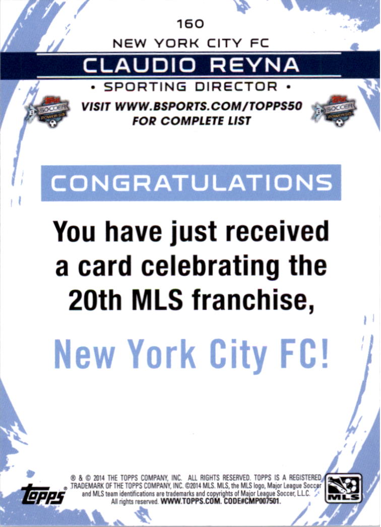 2014-Topps-MLS-Soccer-Base-cards-Inserts-You-Pick-Buy-10-cards-FREE-SHIP thumbnail 121
