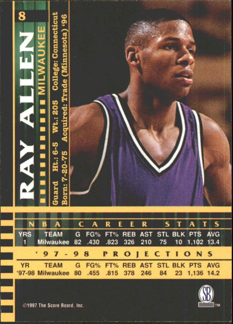 1997 Score Board Players Club Basketball Cards (Pick Your ...