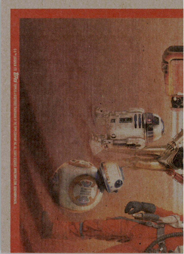 2015-Star-Wars-Journey-to-The-Force-Awakens-Black-Trading-Card-Pick miniature 167