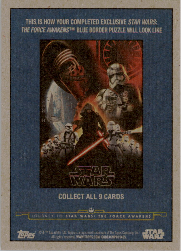 2015-Star-Wars-Journey-to-The-Force-Awakens-Black-Trading-Card-Pick miniature 201