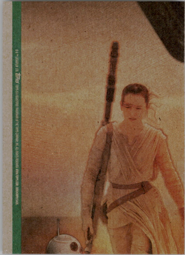 2015-Star-Wars-Journey-to-The-Force-Awakens-Black-Trading-Card-Pick miniature 213