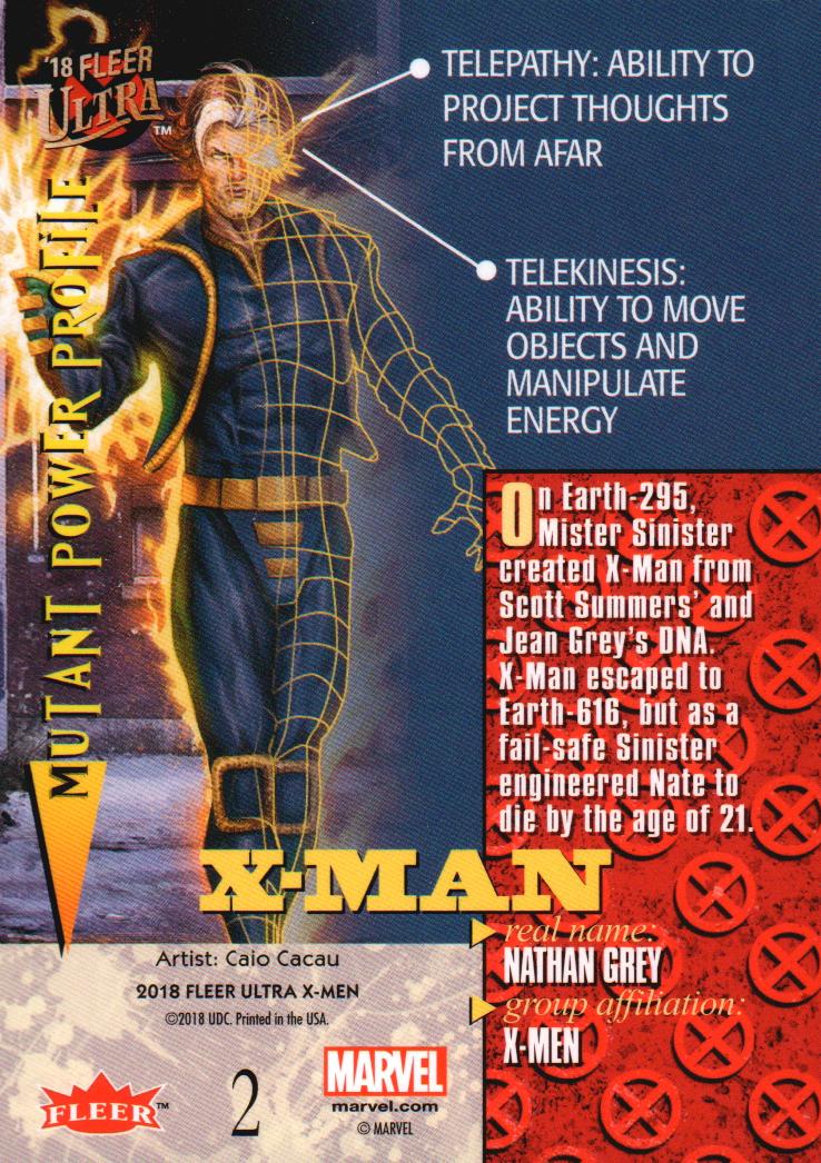2018-Fleer-Ultra-X-Men-Trading-Cards-Base-Set-Pick-From-List miniature 5