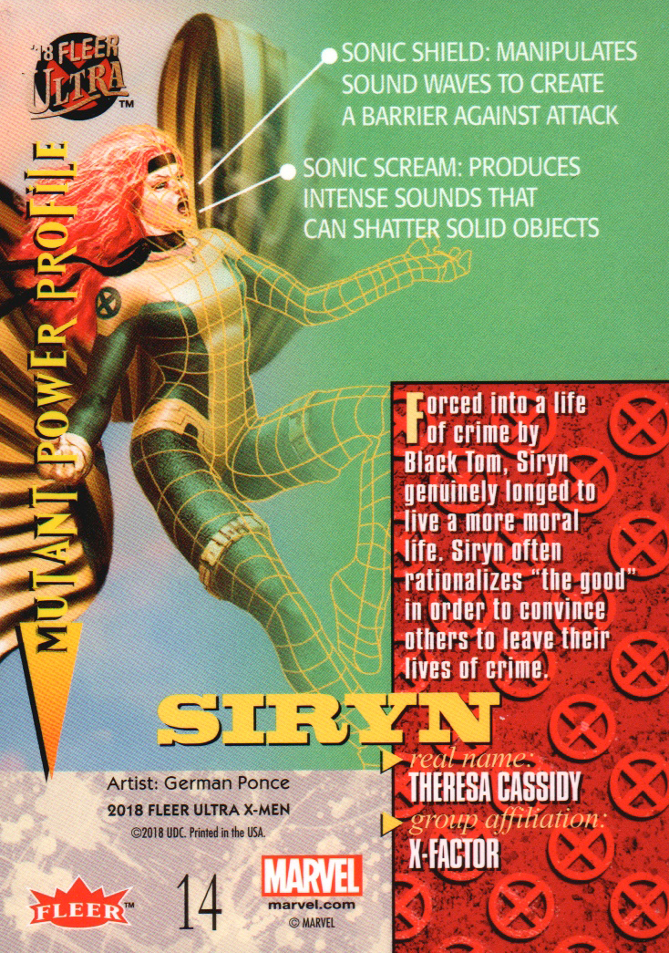 2018-Fleer-Ultra-X-Men-Trading-Cards-Base-Set-Pick-From-List miniature 27
