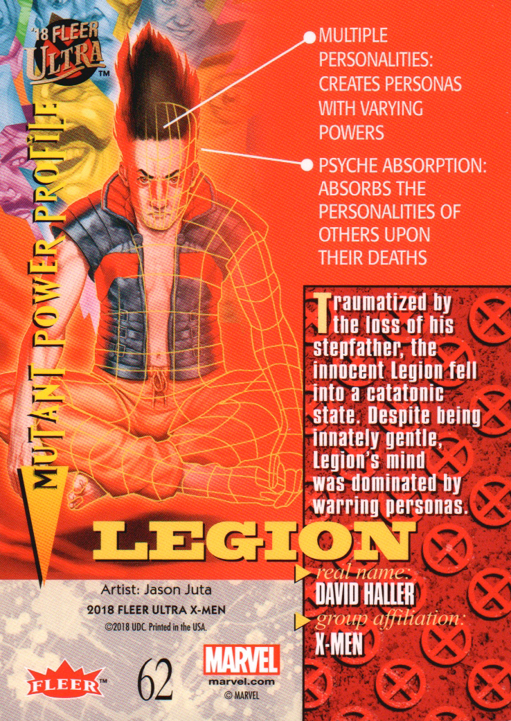 2018-Fleer-Ultra-X-Men-Trading-Cards-Base-Set-Pick-From-List miniature 105