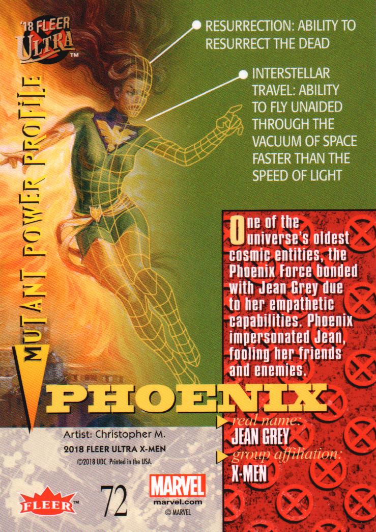 2018-Fleer-Ultra-X-Men-Trading-Cards-Base-Set-Pick-From-List miniature 125