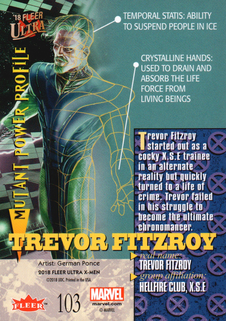 2018-Fleer-Ultra-X-Men-Trading-Cards-Base-Set-Pick-From-List miniature 179