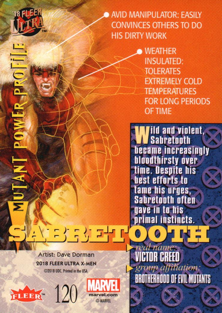2018-Fleer-Ultra-X-Men-Trading-Cards-Base-Set-Pick-From-List miniature 197