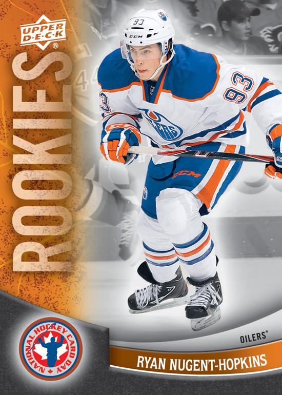 2012 National Hockey Card Day Canada Ryan Nugent Hopkins 2 Beckett