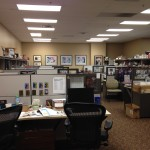 One of the many departments at Panini America.