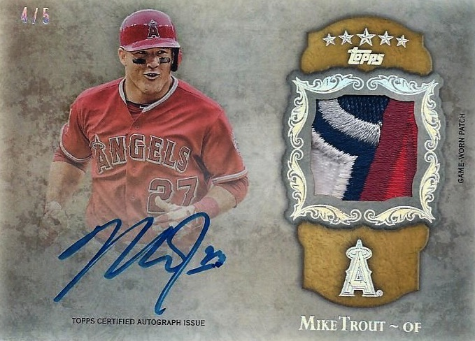 Topps Signs Mike Trout To Exclusive Auto Deal Beckett News