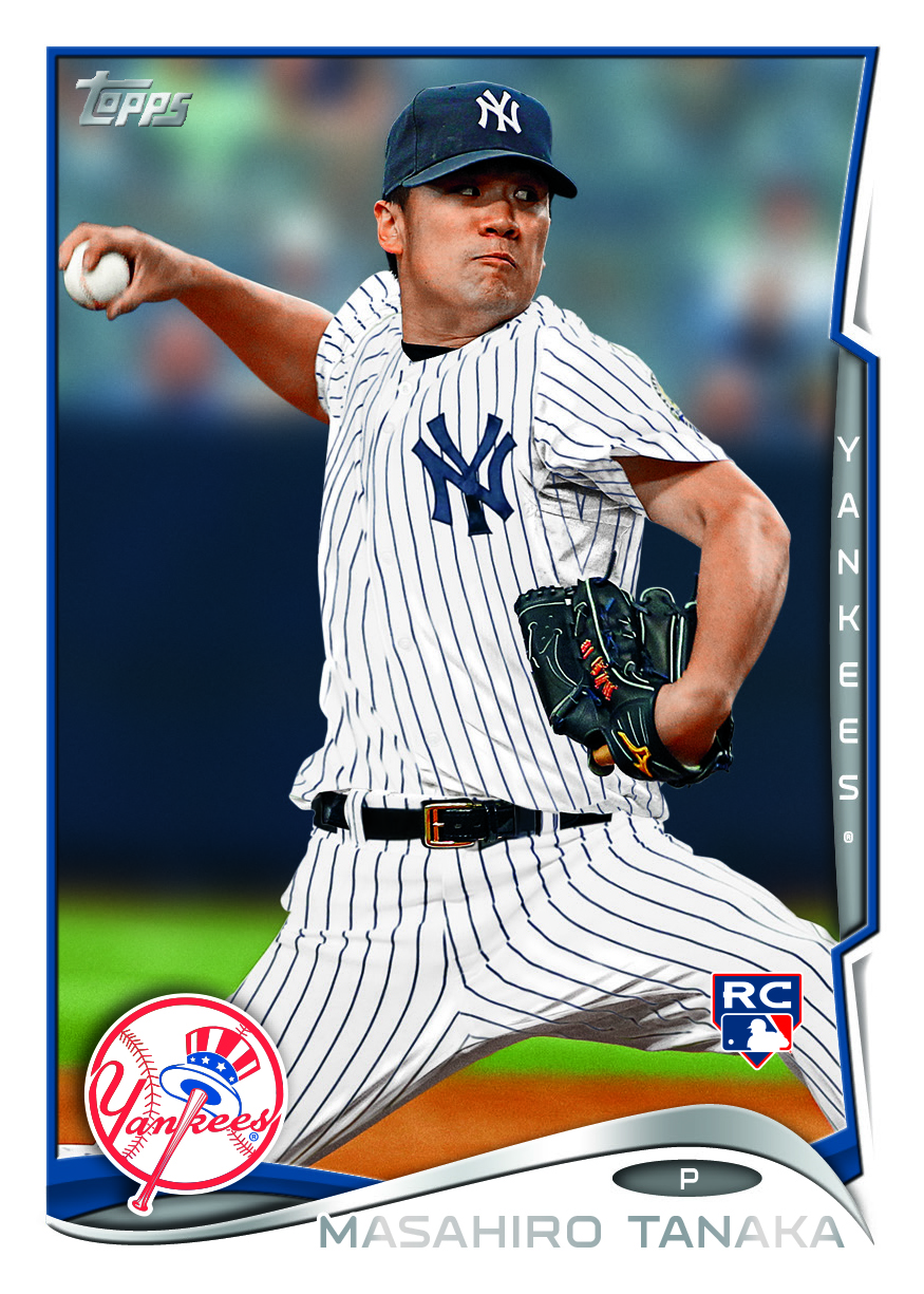 Topps Unveils Plans For First Masahiro Tanaka New York