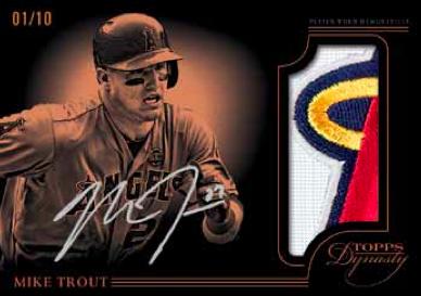 2014 Topps Dynasty Baseball Card Details Beckett News
