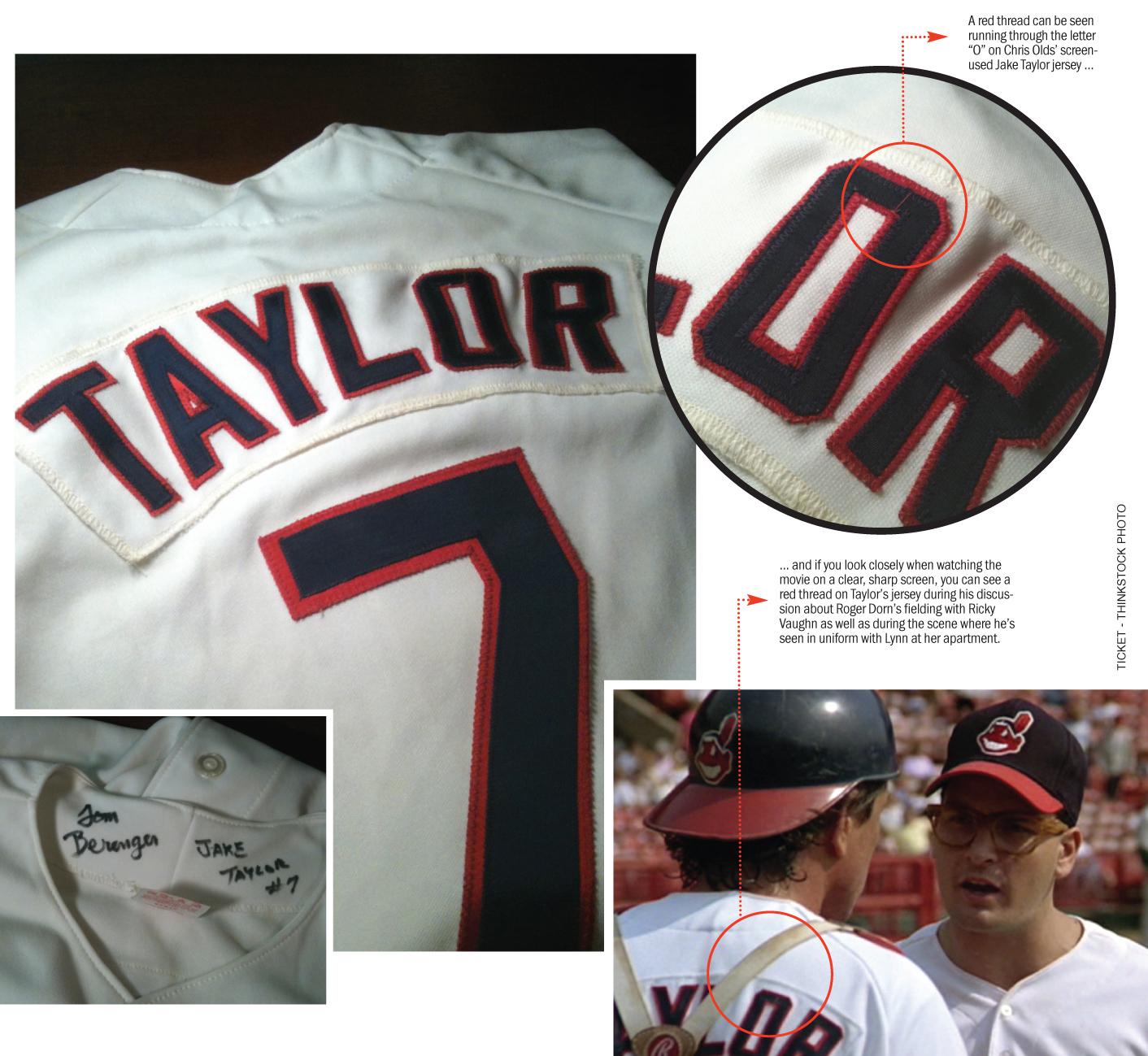 hot sale online a91fb d384b My Major League Obsession: Jake Taylor, Pedro Cerrano & Co ...