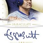 Panini America 2014 Immaculate Baseball Brett