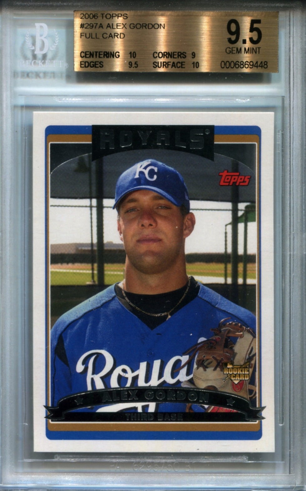 competitive price 88578 52711 Alex Gordon's two hottest cards should not exist - Beckett News