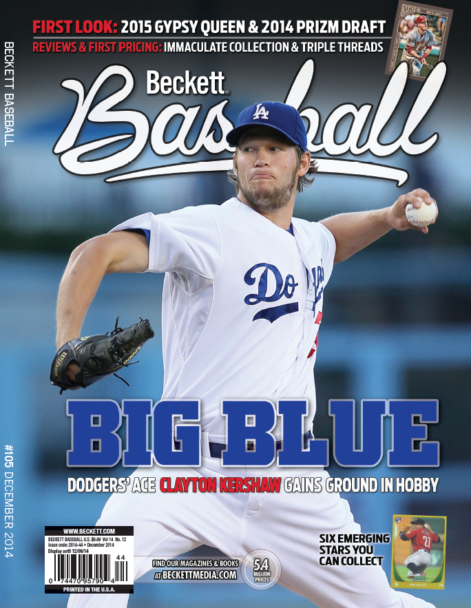 Top Choice Five Clayton Kershaw Cards To Own Beckett News