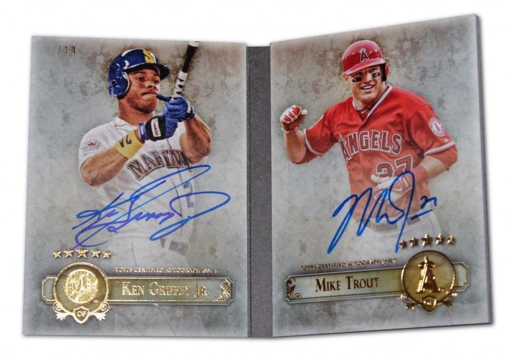 Fab Five Rare Mike Trout Autographs To Chase Beckett News