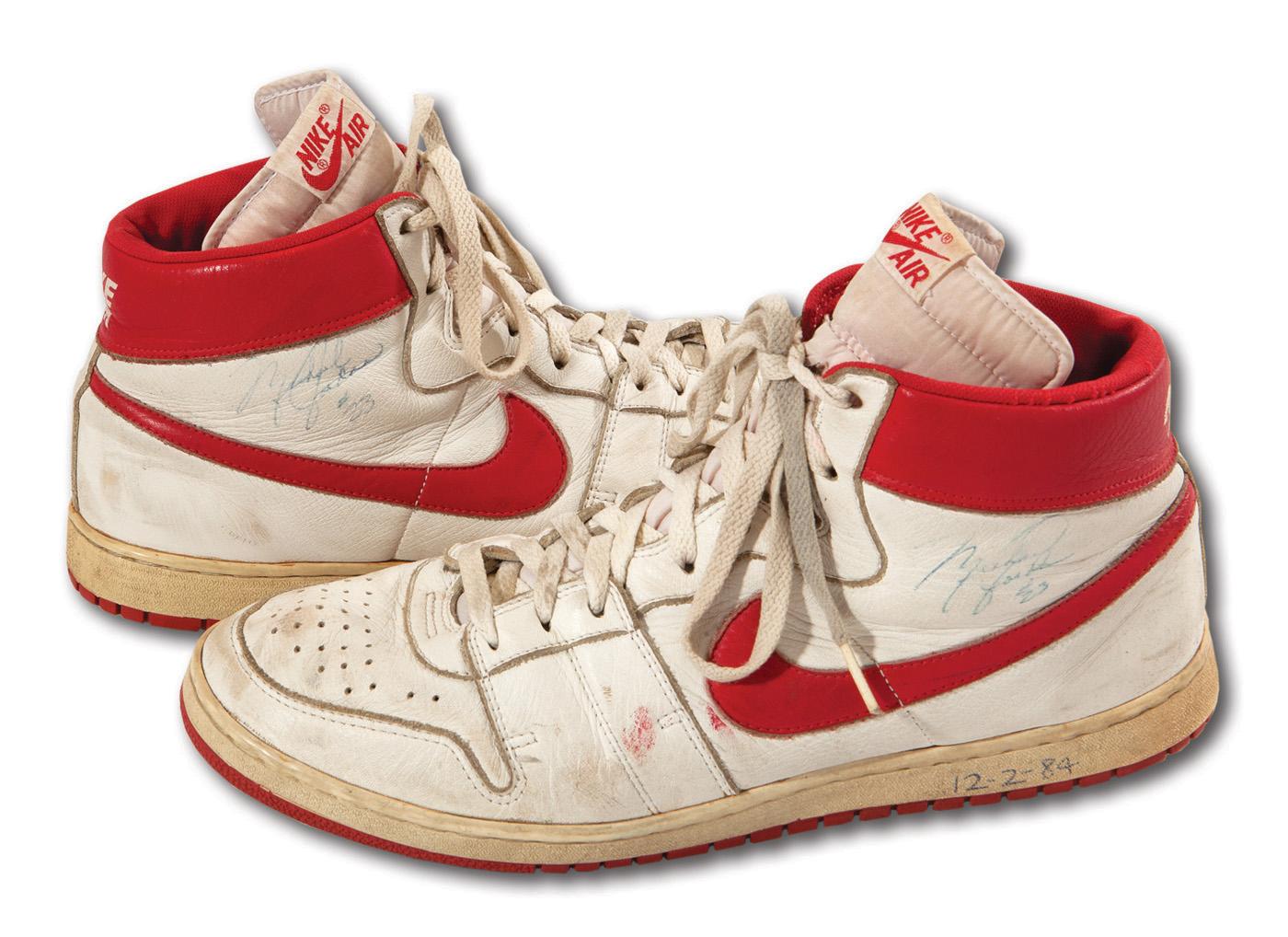 new products ed67c 1d236 Michael Jordan's rookie shoes top $70,000 at auction ...