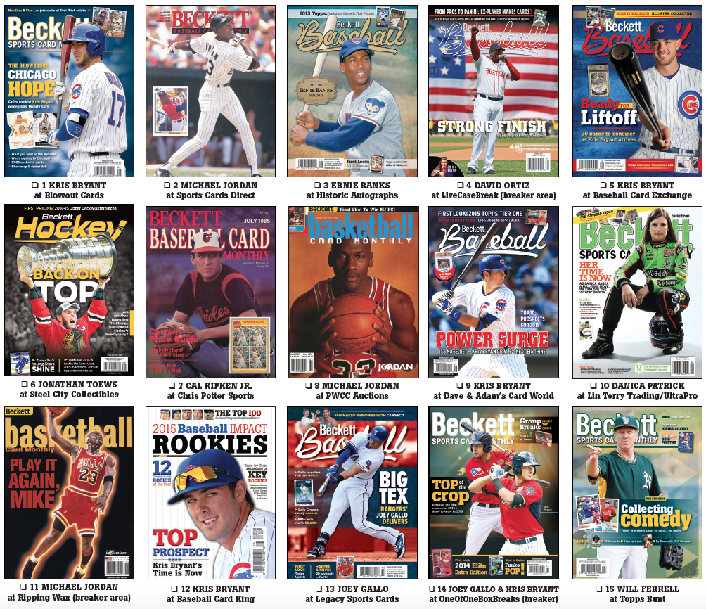 Beckett Covers Cards Return At National Sports Collectors Convention