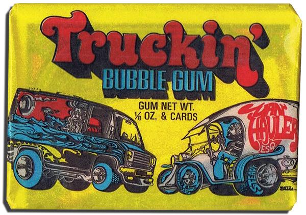 1975 Donruss Truckin' Pack