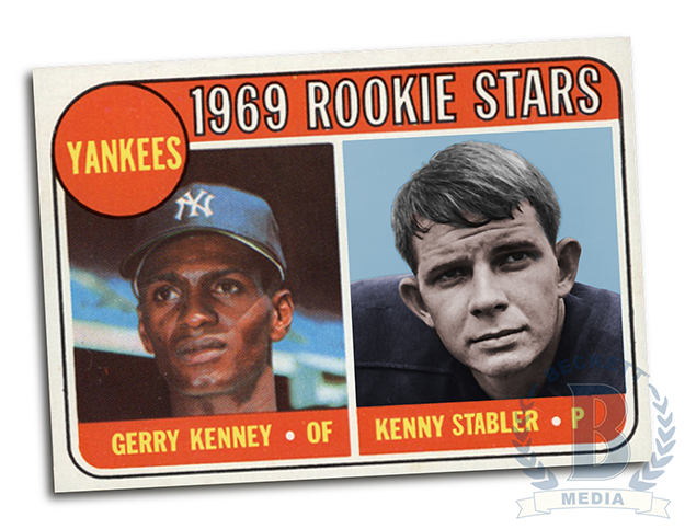 Totally Fake Rookie Cards 1969 Topps Kenny Stabler