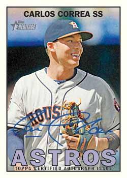 2016 Topps Heritage Baseball Cards Details Hobby Box Info