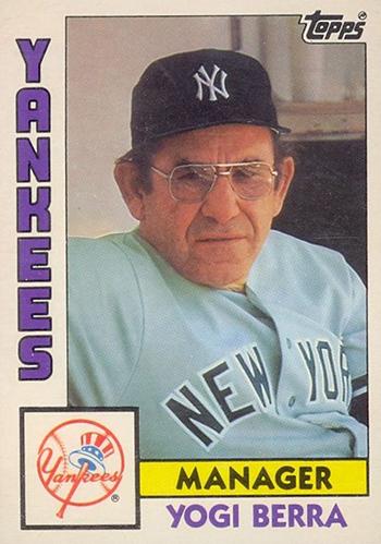 Vintage Yogi Berra Cards A Career Timeline