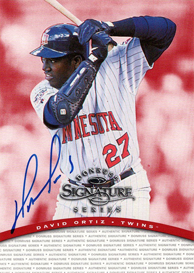 Grand Papis 10 Awesome David Ortiz Cards Beckett News
