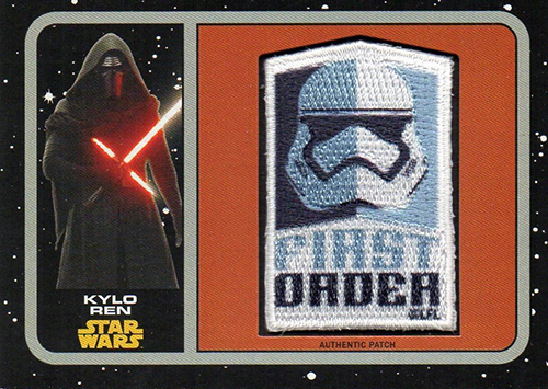 2015 Star Wars Journey To The Force Awakens Patch Cards