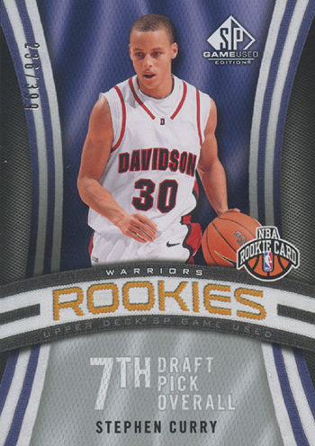 official photos e823d 14f9c Ranking the Most Valuable Stephen Curry Rookie Cards