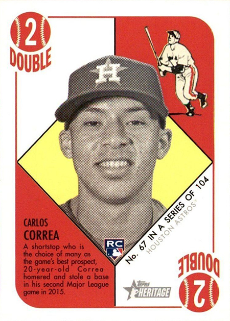 Ranking The Most Valuable Carlos Correa Rookie Cards