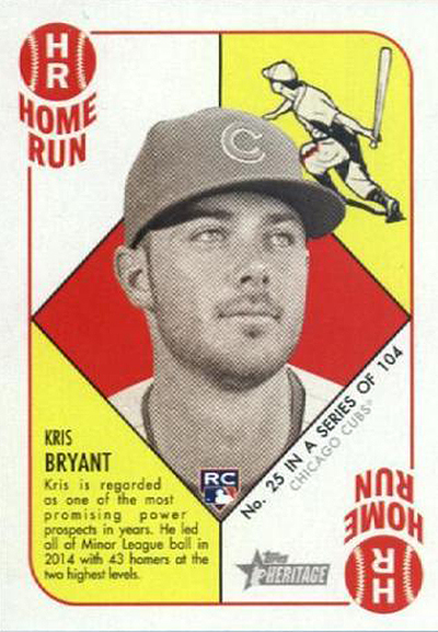 Kris Bryant Rookie Card Countdown And Ranking Whats Most