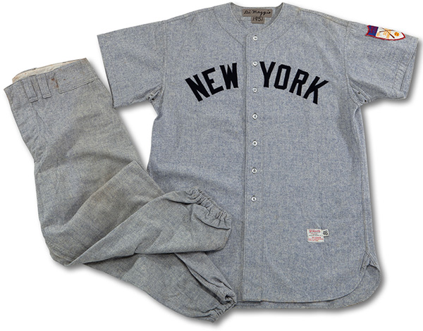 quality design 35359 0f069 Joe DiMaggio Game-Worn Yankees Uniform Might Hit $400K+