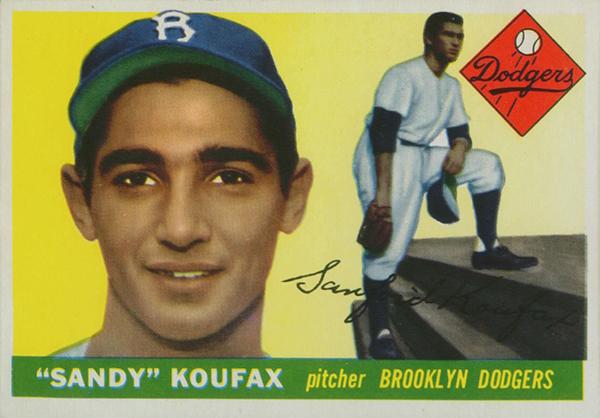 Most Valuable Sandy Koufax Baseball Cards