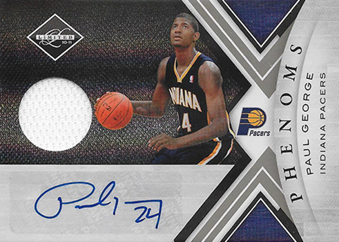 pretty nice 96f70 378dd Ranking the Most Valuable Paul George Rookie Cards