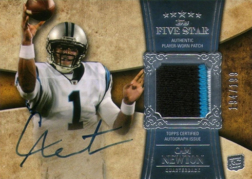 Most Valuable Cam Newton Rookie Cards Ranked