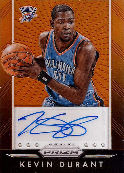 huge discount 95a98 8f70e Kevin Durant Extends Exclusive Deal with Panini, Becomes ...