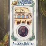 2016 Topps Allen and Ginter Baseball Ancient Rome Relic
