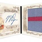 2016 Topps Allen and Ginter Baseball Book Card
