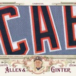 2016 Topps Allen and Ginter Baseball Cabinet Relic