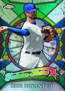 2016 Topps Chrome Baseball Checklist Details