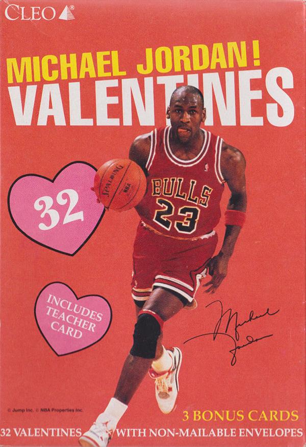 Looking Back At Old School Michael Jordan Valentines
