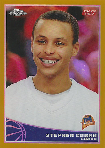 The Shocking Prices Of Stephen Curry Rookie Cards