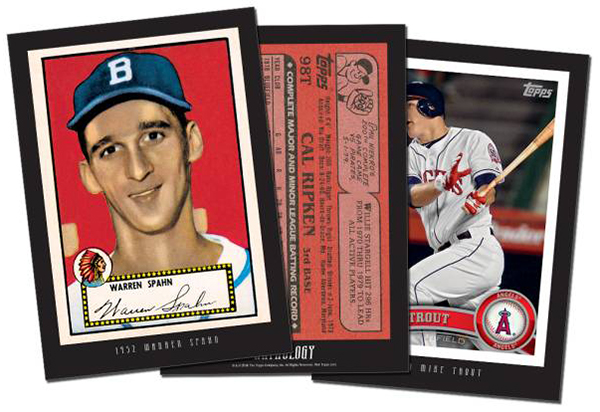 2016 Topps Anthology Series 1 Baseball Details Checklist