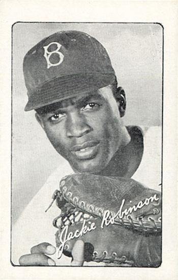 1947 Jackie Robinson Bond Bread Baseball Cards History