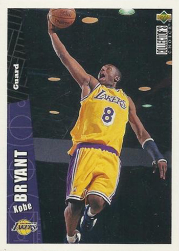Image result for most valuable kobe bryant rookie cards