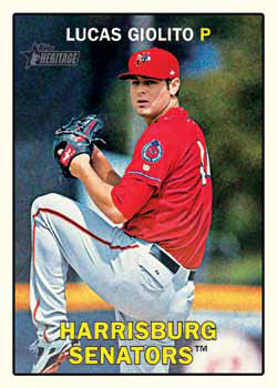 2016 Topps Heritage Minor League Baseball Card Details