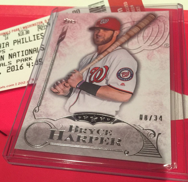Exclusive Bryce Harper Cards With Special New Era Cap