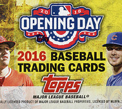 2016 Topps Opening Day Baseball Box Busters